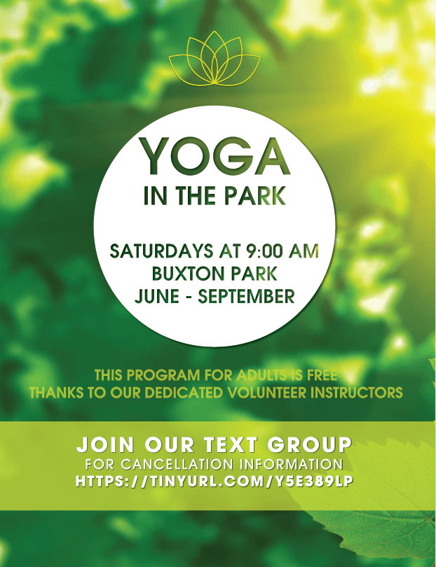 yoga in the park mag