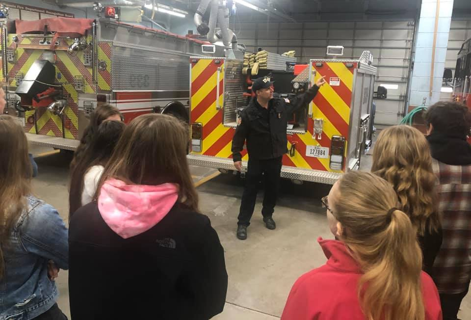 MYC fire department tour 2019