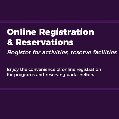 Registration and reservations  - April 2021