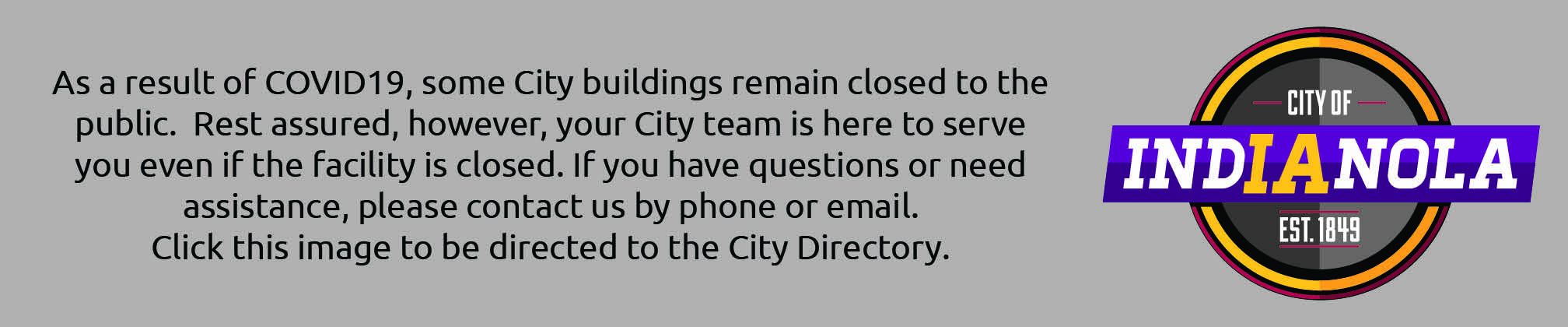 COVID Buildings Closed