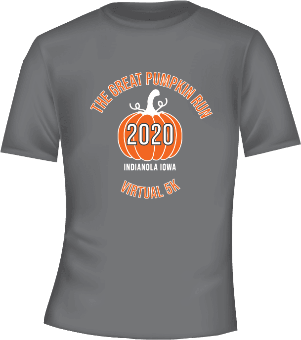 Great Pumpkin Run shirt
