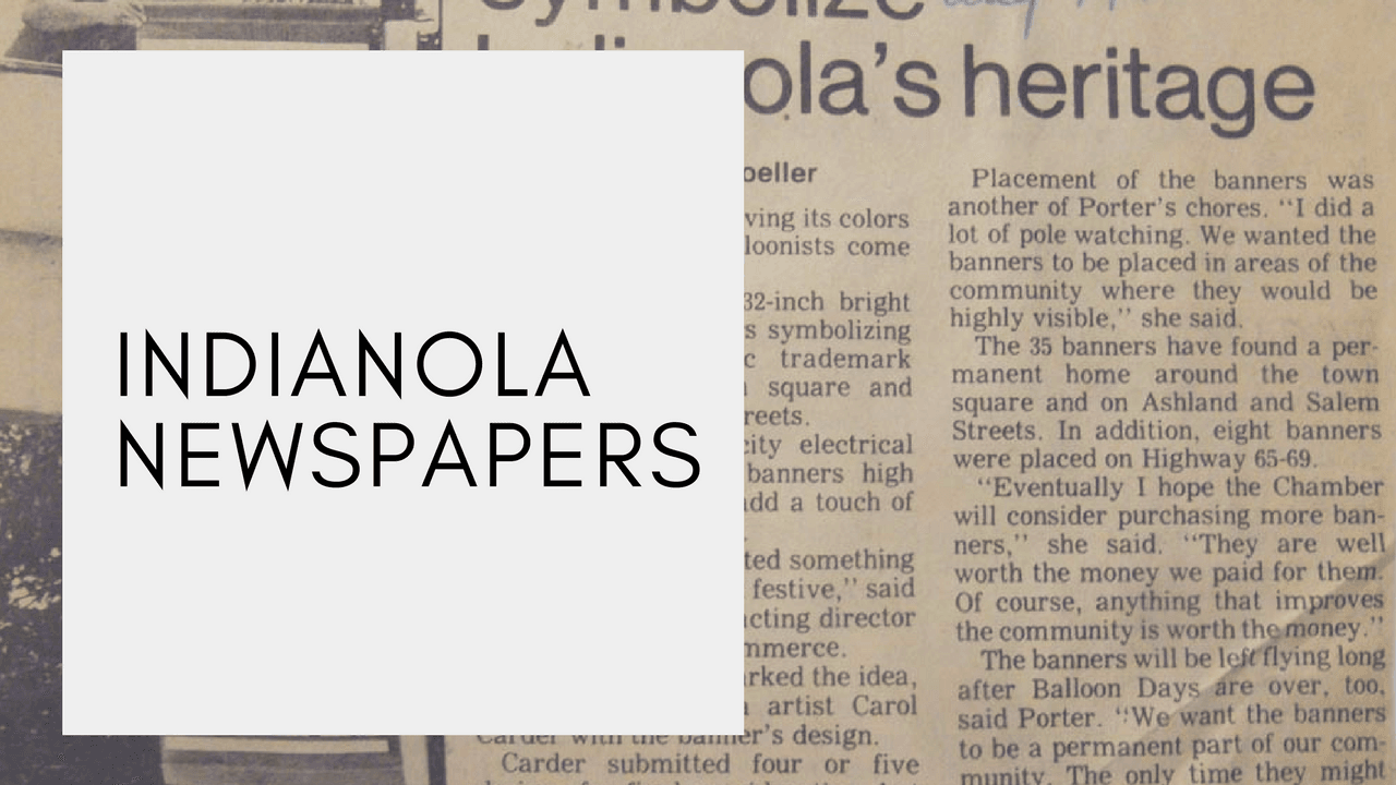indianola newspapers