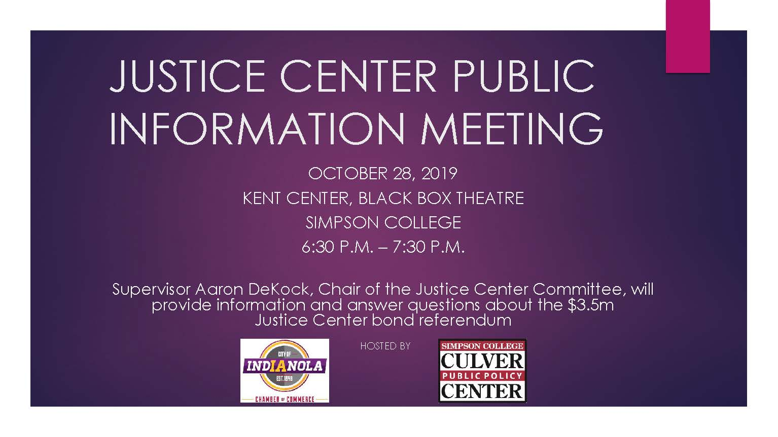 19.10.11_WW_Justice Center Meeting Announcement Final